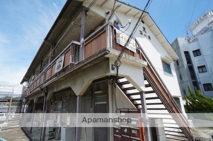 奈良県生駒市、生駒駅徒歩15分の築44年 2階建の賃貸アパート