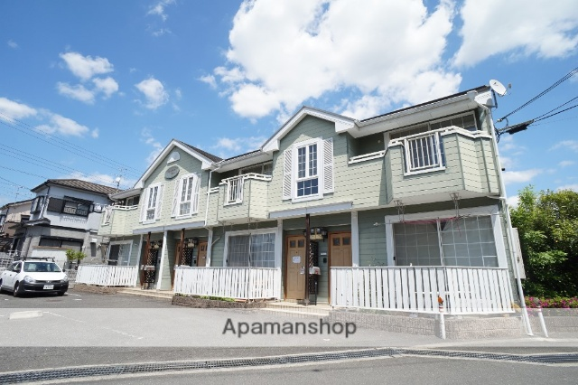 奈良県生駒市、生駒駅バス14分壱分下車後徒歩7分の築19年 2階建の賃貸アパート