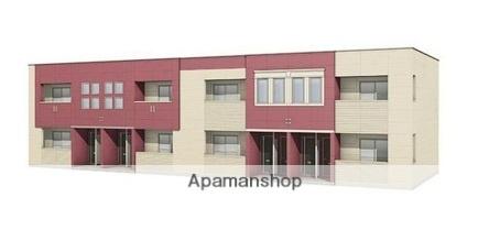 奈良県生駒市、生駒駅徒歩19分の新築 2階建の賃貸アパート
