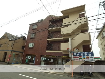 京都府木津川市、西木津駅徒歩7分の築28年 4階建の賃貸マンション