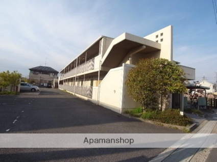 京都府相楽郡精華町、下狛駅徒歩9分の築21年 2階建の賃貸マンション