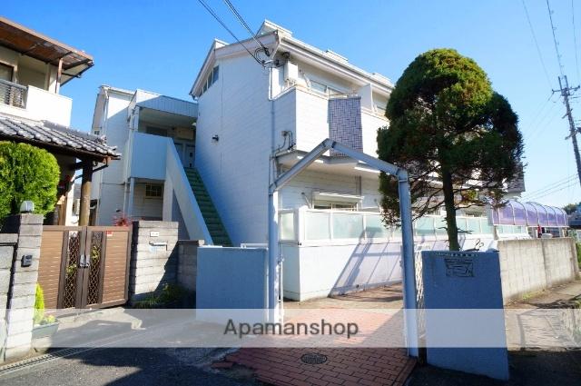 奈良県奈良市、富雄駅徒歩3分の築28年 2階建の賃貸アパート