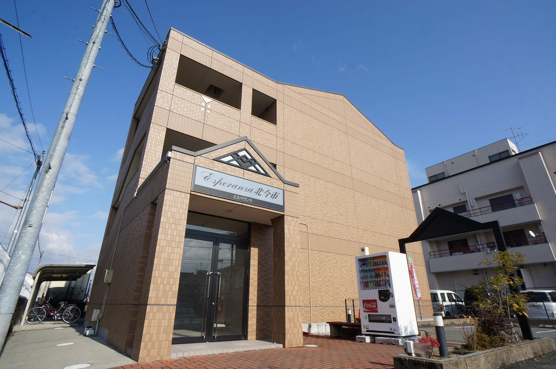 奈良県香芝市、志都美駅徒歩16分の築8年 3階建の賃貸アパート