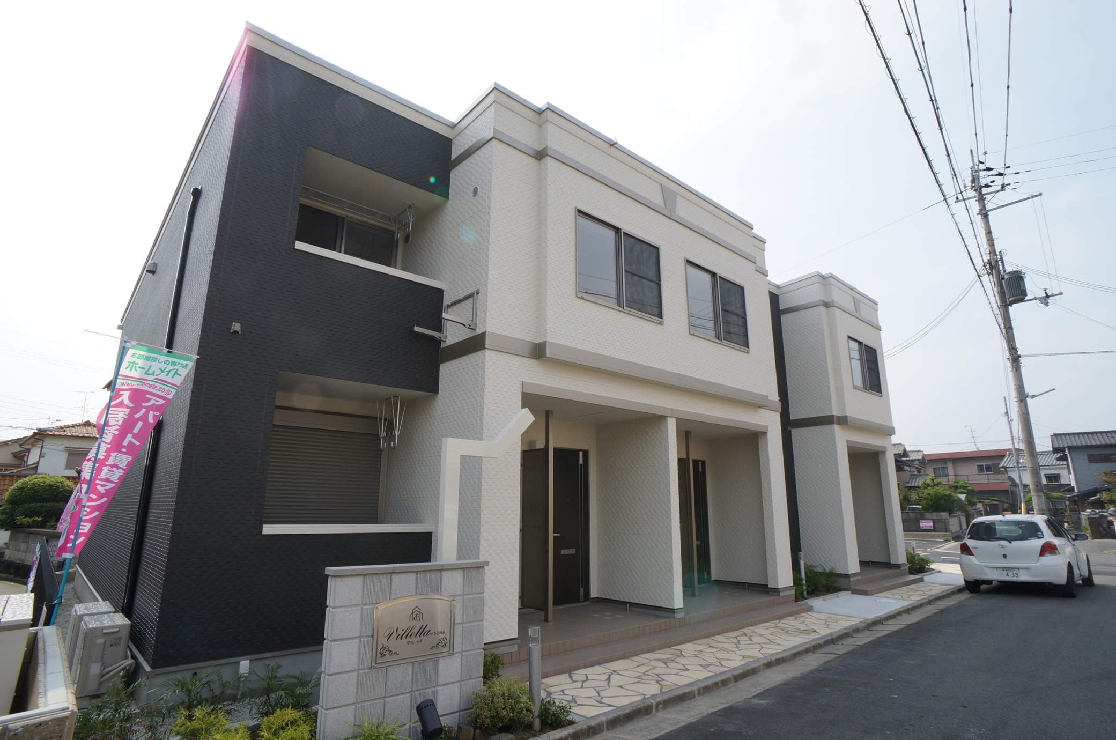 奈良県香芝市、香芝駅徒歩17分の築3年 2階建の賃貸アパート