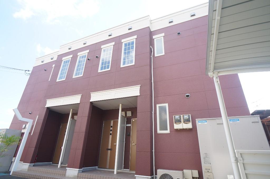 奈良県御所市、御所駅徒歩9分の築5年 2階建の賃貸アパート