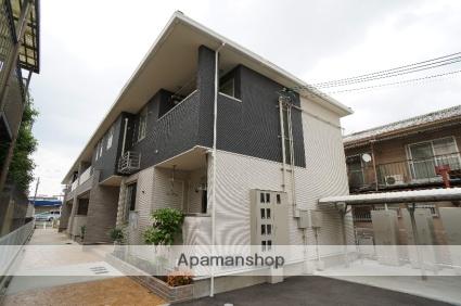 奈良県大和高田市、尺土駅徒歩17分の築3年 2階建の賃貸アパート