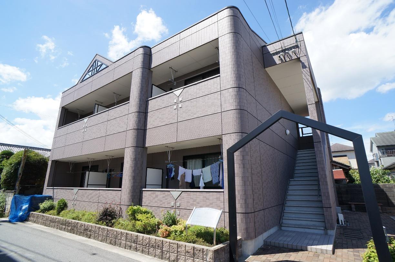 奈良県香芝市、JR五位堂駅徒歩8分の築11年 2階建の賃貸アパート