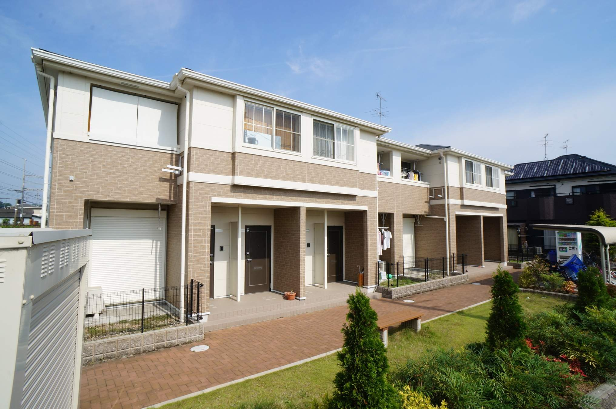奈良県香芝市、香芝駅徒歩15分の築6年 2階建の賃貸アパート