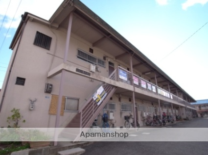 奈良県奈良市、大和西大寺駅徒歩7分の築40年 2階建の賃貸アパート