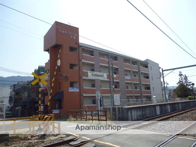 和歌山県紀の川市、名手駅徒歩1分の築17年 4階建の賃貸マンション