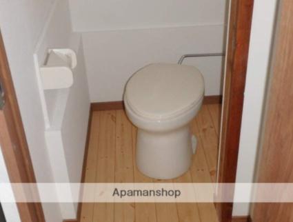 有家住宅[2K/33m2]のトイレ