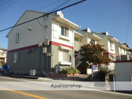和歌山県和歌山市、紀伊駅徒歩17分の築23年 2階建の賃貸アパート