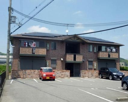 和歌山県海南市、黒江駅徒歩17分の築13年 2階建の賃貸アパート