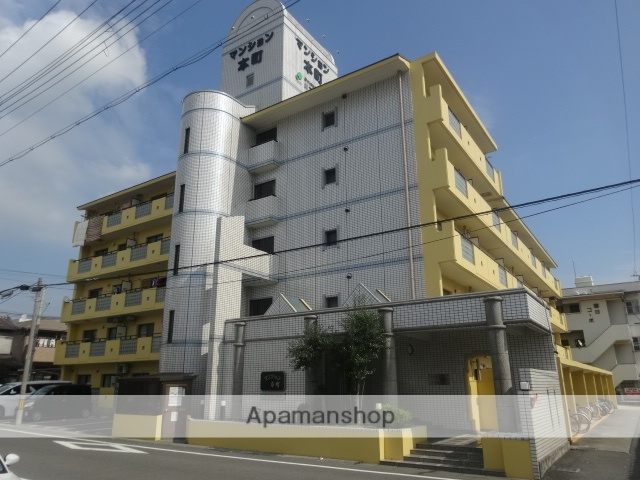 和歌山県和歌山市、紀伊中ノ島駅徒歩20分の築25年 5階建の賃貸マンション