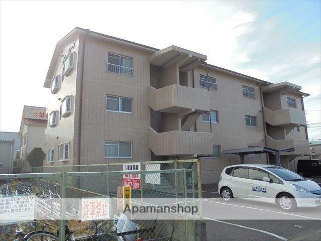 和歌山県和歌山市、紀ノ川駅徒歩19分の築20年 3階建の賃貸マンション