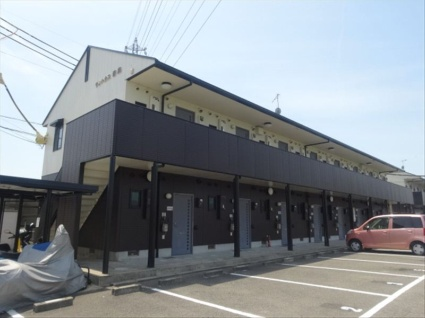 和歌山県岩出市、下井阪駅徒歩10分の築18年 2階建の賃貸アパート