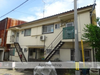 和歌山県和歌山市、宮前駅徒歩15分の築36年 2階建の賃貸アパート