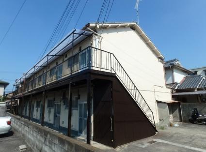 和歌山県和歌山市、田中口駅徒歩13分の築44年 2階建の賃貸アパート