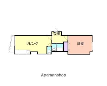 和歌山県和歌山市北新5丁目[2DK/40m2]の間取図