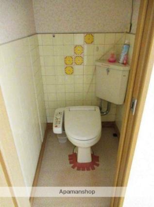 和歌山県和歌山市北新5丁目[2DK/40m2]のトイレ
