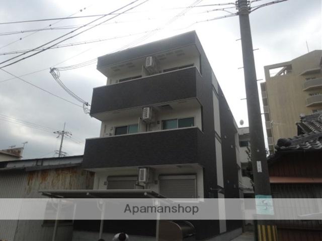 和歌山県和歌山市、和歌山駅徒歩14分の新築 3階建の賃貸アパート