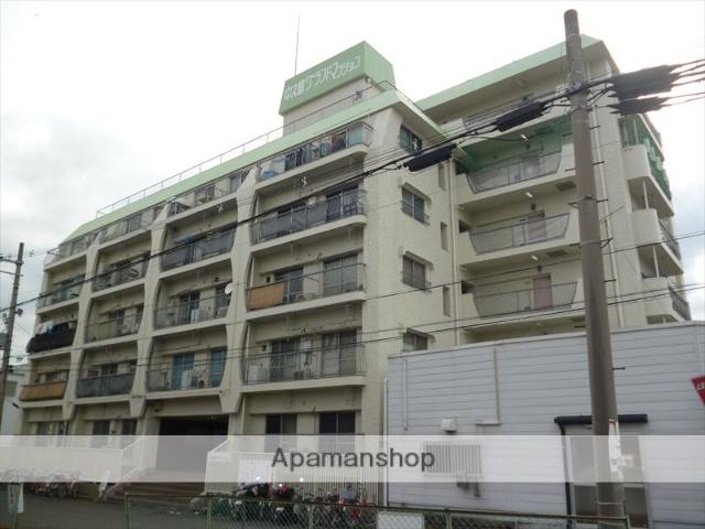 和歌山県和歌山市、紀伊中ノ島駅徒歩12分の築42年 6階建の賃貸マンション