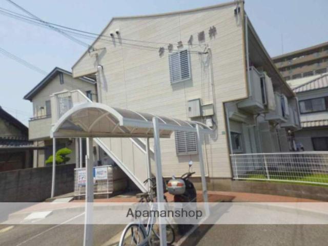 和歌山県和歌山市、和歌山駅徒歩8分の築30年 2階建の賃貸アパート