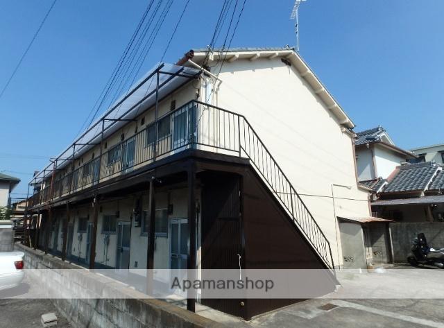 和歌山県和歌山市、田中口駅徒歩13分の築43年 2階建の賃貸アパート