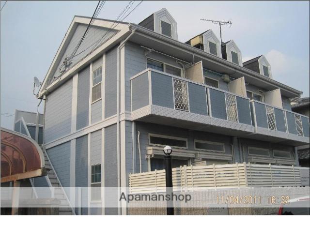 和歌山県和歌山市、中松江駅徒歩26分の築26年 2階建の賃貸アパート