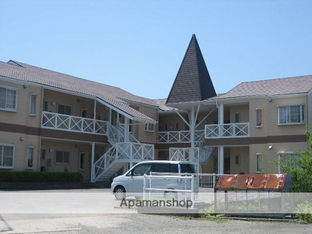 和歌山県御坊市、御坊駅徒歩65分の築22年 2階建の賃貸アパート