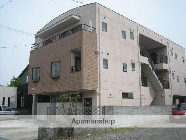 和歌山県御坊市、学門駅徒歩6分の築19年 3階建の賃貸アパート
