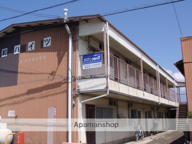 和歌山県御坊市、御坊駅徒歩16分の築45年 2階建の賃貸アパート