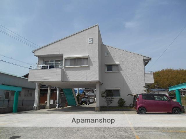 和歌山県御坊市、紀伊内原駅徒歩16分の築22年 2階建の賃貸アパート