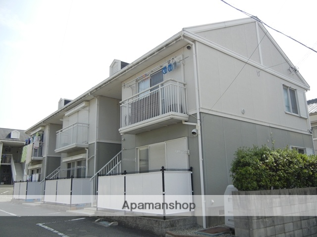 和歌山県日高郡美浜町、市役所前駅徒歩15分の築22年 2階建の賃貸アパート