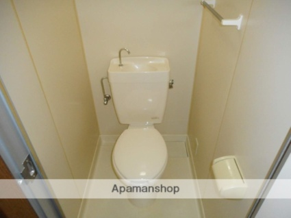 和歌山県田辺市東陽[1K/26.08m2]のトイレ