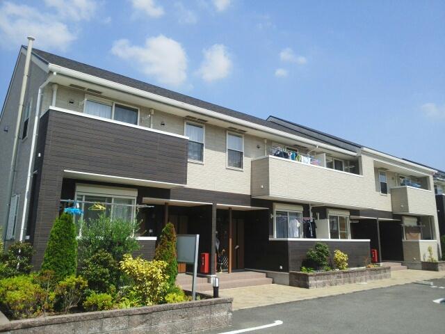 和歌山県紀の川市の築8年 2階建の賃貸アパート