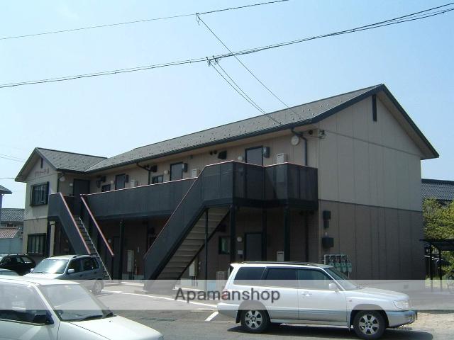 鳥取県鳥取市、鳥取駅徒歩25分の築19年 2階建の賃貸アパート