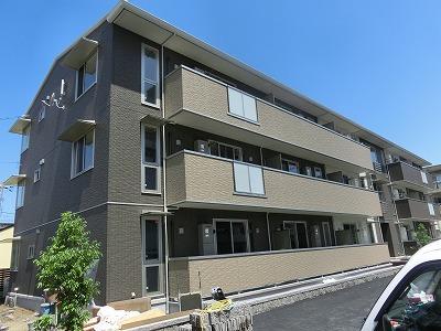 鳥取県鳥取市、鳥取大学前駅徒歩6分の築1年 3階建の賃貸アパート