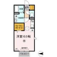鳥取県鳥取市湖山町南5丁目[1R/30.27m2]の間取図