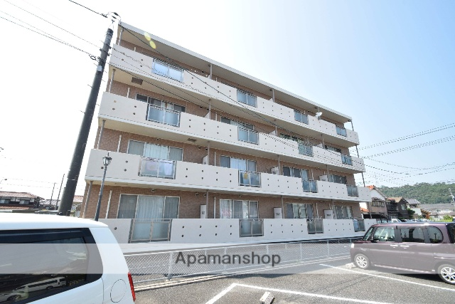 鳥取県鳥取市、鳥取駅徒歩37分の築10年 4階建の賃貸マンション