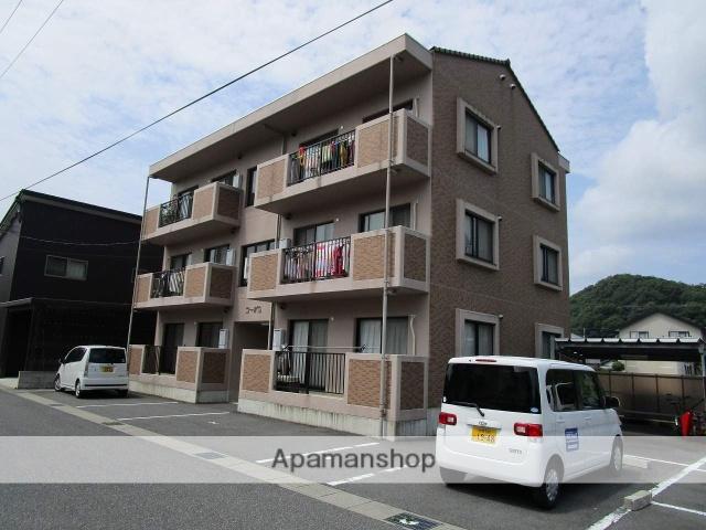 鳥取県八頭郡八頭町、東郡家駅徒歩5分の築12年 3階建の賃貸マンション