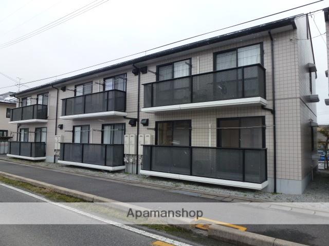 鳥取県米子市、米子駅日本交通バス14分上福原下車後徒歩5分の築21年 2階建の賃貸アパート