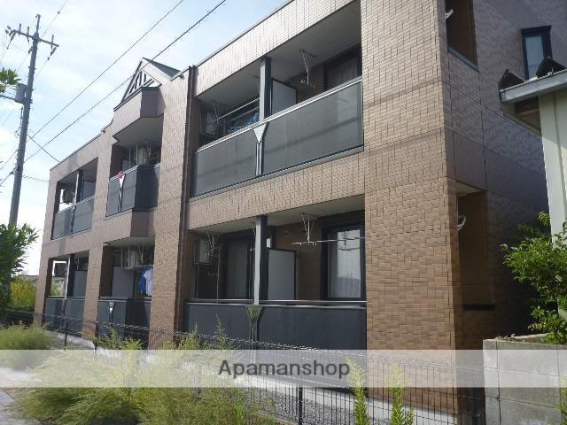 鳥取県境港市、上道駅徒歩12分の築10年 2階建の賃貸アパート
