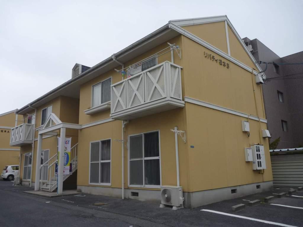 鳥取県米子市、後藤駅徒歩25分の築26年 2階建の賃貸アパート
