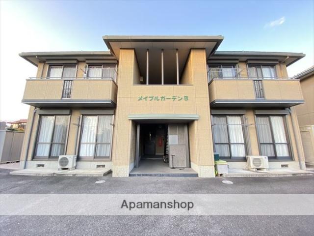 鳥取県境港市、高松町駅徒歩11分の築16年 2階建の賃貸アパート