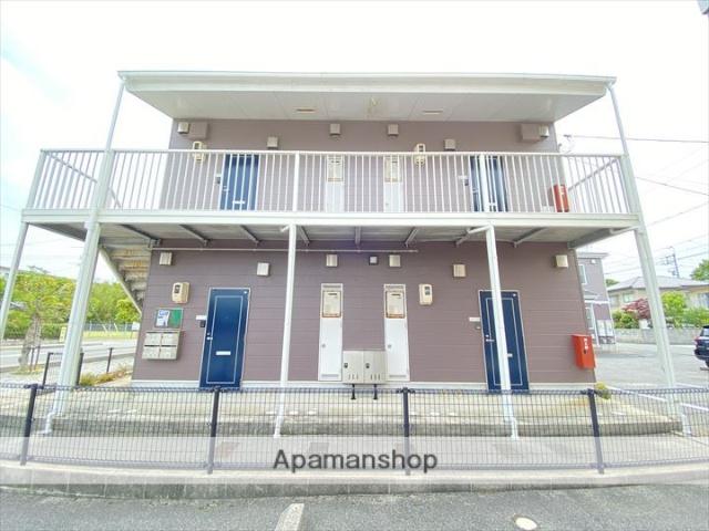 鳥取県境港市、中浜駅バス6分三軒屋下車後徒歩13分の築17年 2階建の賃貸アパート