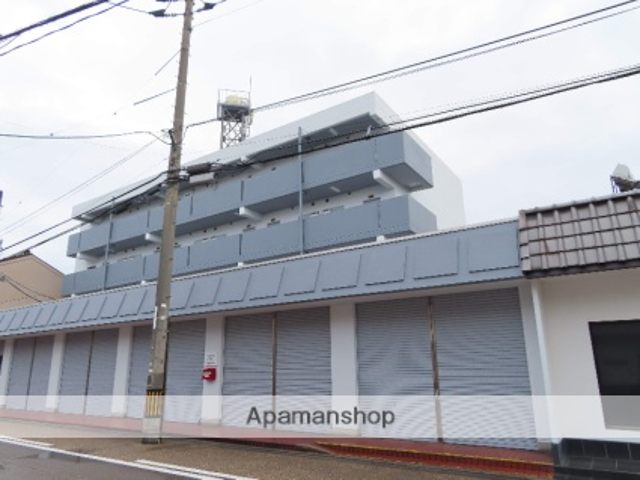 鳥取県米子市、博労町駅徒歩17分の築35年 4階建の賃貸マンション