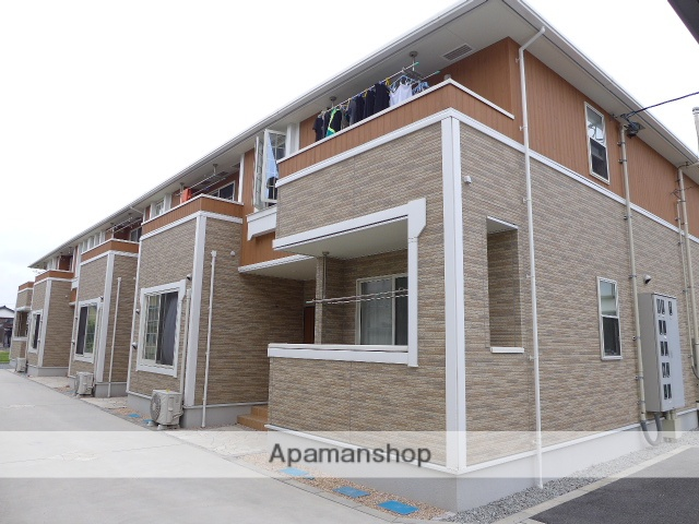 鳥取県米子市、米子駅日本交通バス35分 弓ヶ浜下車後徒歩5分の築3年 2階建の賃貸アパート