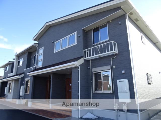 鳥取県米子市、淀江駅徒歩35分の新築 2階建の賃貸アパート
