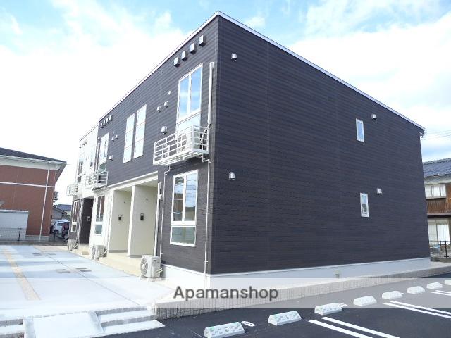 鳥取県境港市、上道駅徒歩11分の新築 2階建の賃貸アパート